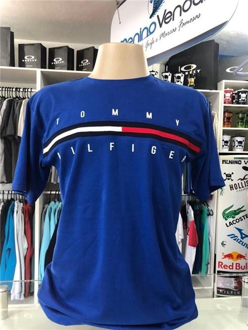 Camiseta Tommy Hilfiger Tradicional Azul Roial (GG)