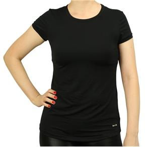 Camiseta Trinys Baby Loock Feminino - EG - PRETO