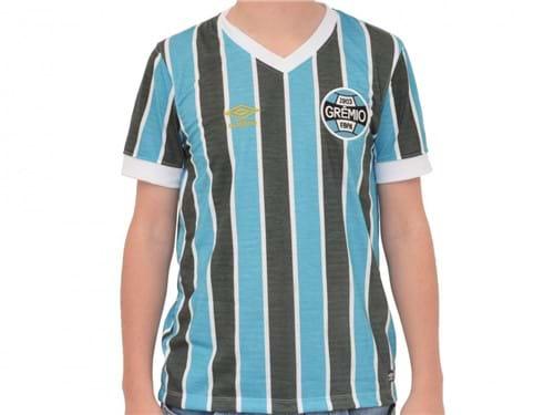 Camiseta Umbro Gremio Retro 1983 Tricolor