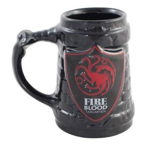 Caneca 3D 500ml Targaryen - Game Of Thrones