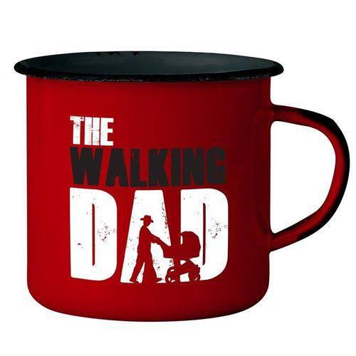 Tudo sobre 'Caneca Esmaltada The Walking Dad'