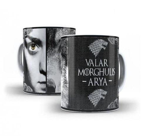 Caneca Game Of Thrones Arya - Oops!
