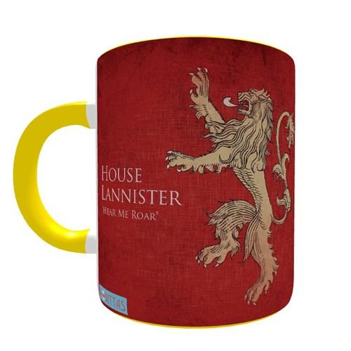 Caneca Game Of Thrones Casa Lannister