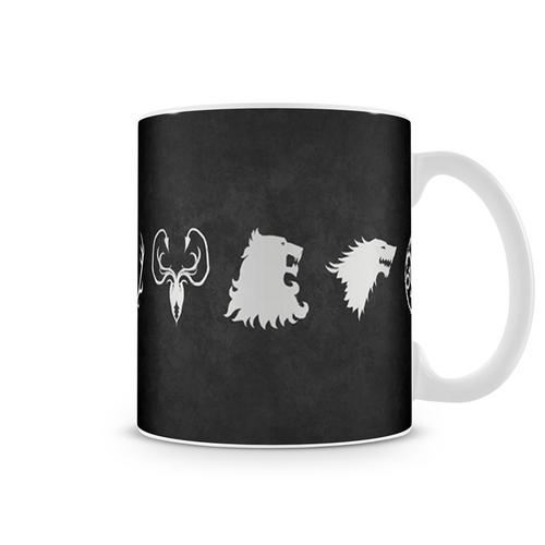 Caneca Game Of Thrones - Casas Iii