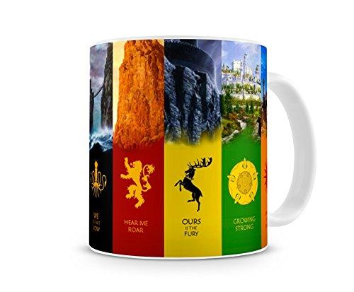 Caneca Game Of Thrones Casas VI