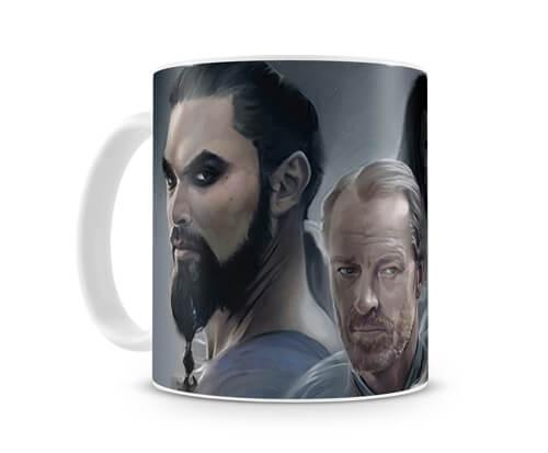 Caneca Game Of Thrones Daenerys Lovers - Artgeek