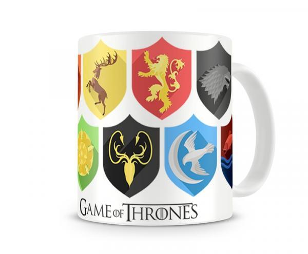 Caneca Game Of Thrones Escudos - Artgeek