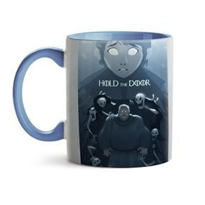 Caneca Game Of Thrones Hold The Door