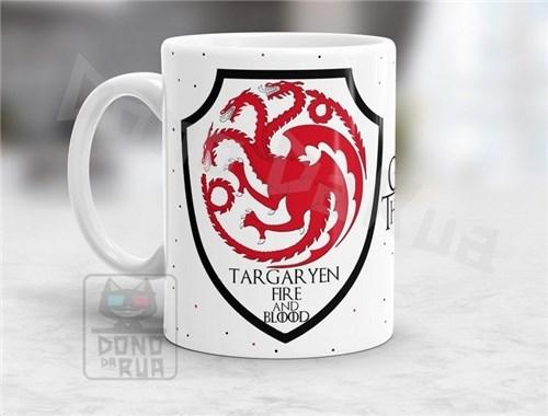 Caneca Game Of Thrones - House Targaryen #06