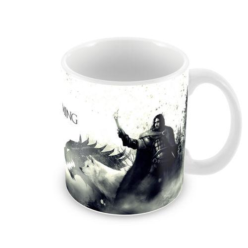 Caneca Game Of Thrones Jon Snow 320 Ml