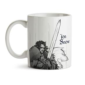 Caneca Game Of Thrones Jon Snow 03