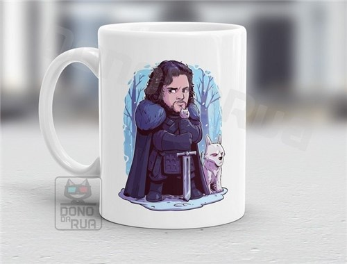 Caneca Game Of Thrones - Jon Snow #02