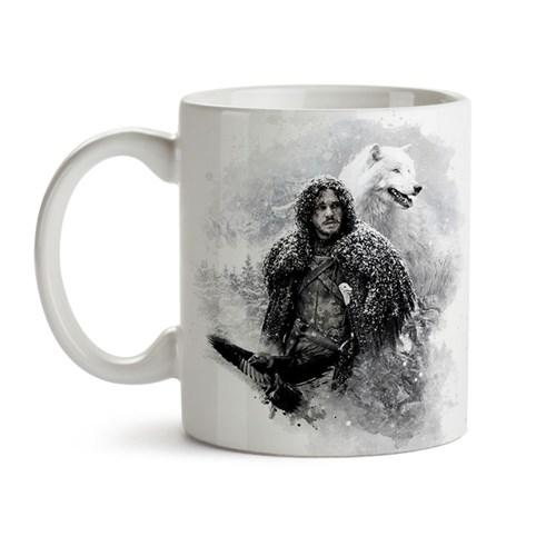 Caneca Game Of Thrones - Jon Snow