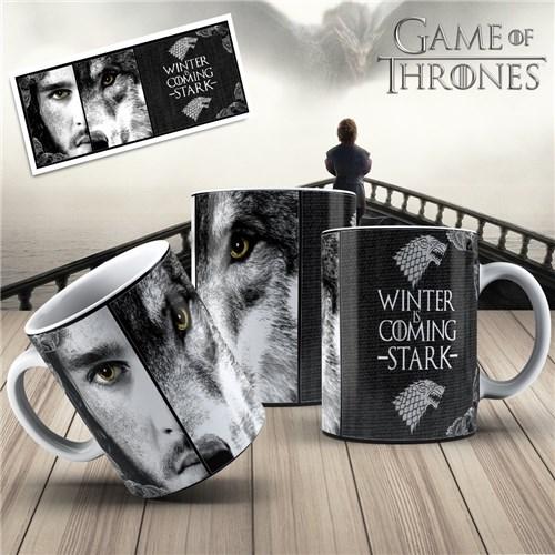 Caneca Game Of Thrones Jon Snow