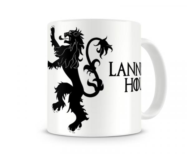 Caneca Game Of Thrones Lannister White - Artgeek