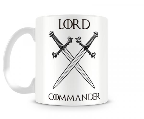 Caneca Game Of Thrones Lord Commander - Artgeek