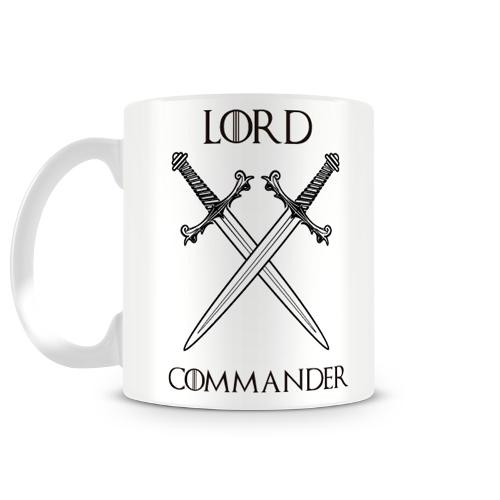 Caneca Game Of Thrones Lord Commander