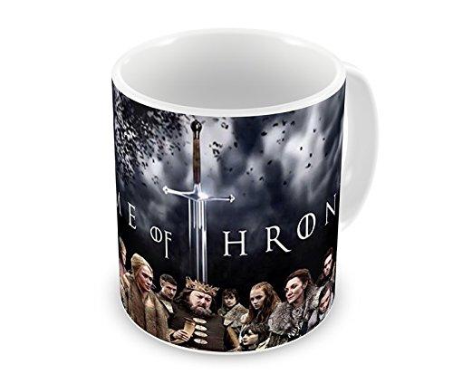 Caneca Game Of Thrones Personagens