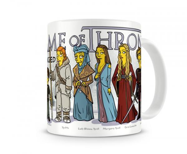 Caneca Game Of Thrones Simpsons - Artgeek