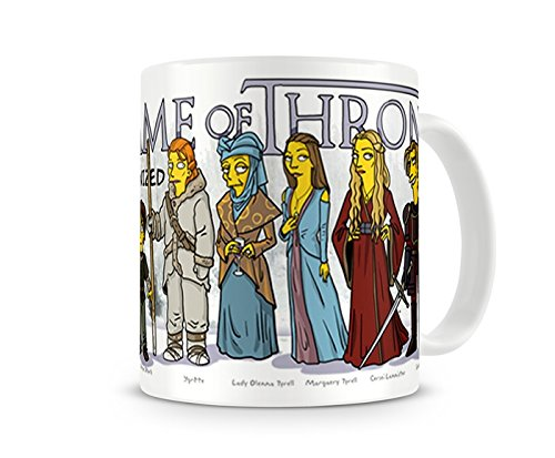Caneca Game Of Thrones Simpsons