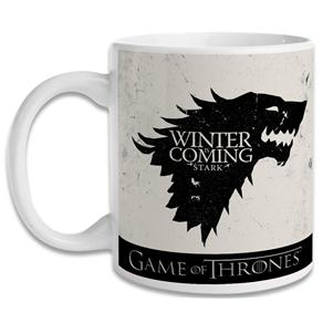 Caneca Game Of Thrones - Stark - Branco