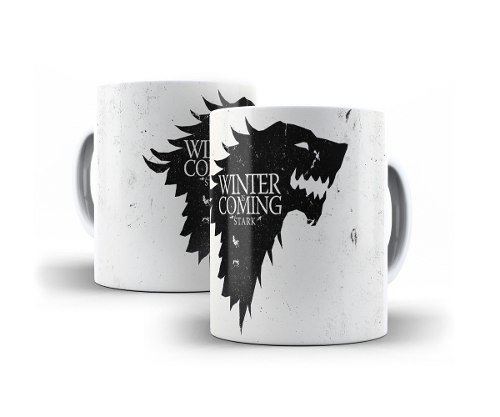 Caneca Game Of Thrones Stark - Winter Is Coming