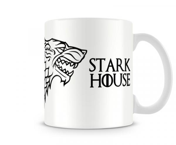 Caneca Game Of Thrones Stark White - Artgeek