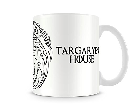Caneca Game Of Thrones Targaryen White