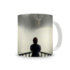 Caneca Game Of Thrones Tyrion Dragon