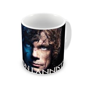 Caneca Game Of Thrones Tyrion Lannister - Preto