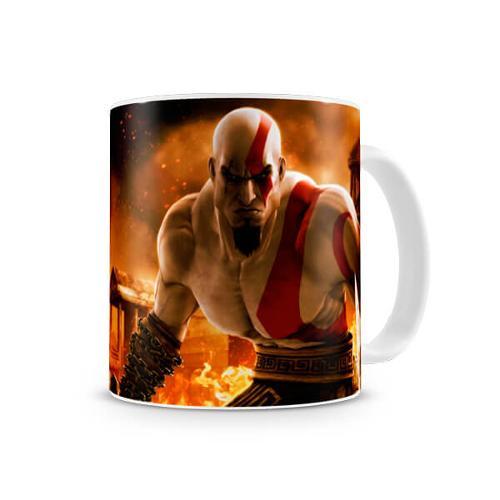 Tudo sobre 'Caneca God Of War Kratos I'