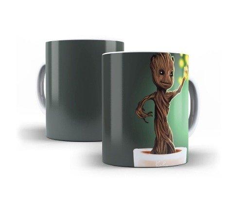 Caneca Guardiões da Galáxia Baby Groot Marvel Oferta