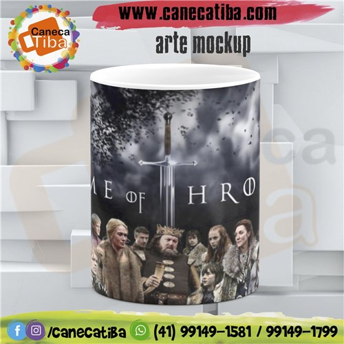 Caneca Personalizada Game Of Thrones 7
