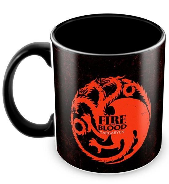 Caneca Personalizada Game Of Thrones Casa Targaryen - Amocanecas