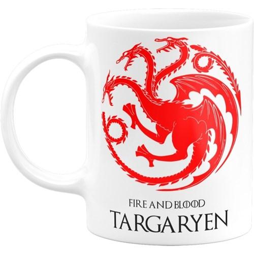 Caneca Personalizada Game Of Thrones - Casa Targaryen