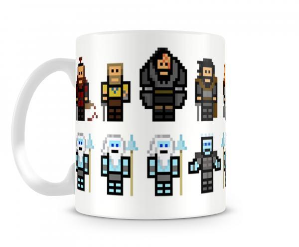 Caneca Pixel - Game Of Thrones - Ank