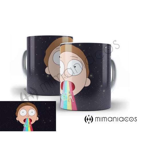 Caneca Porcelana Rick And Morty