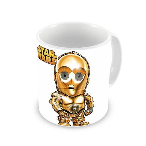 Tudo sobre 'Caneca Star Wars C3po'