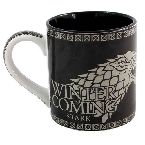 Caneca Winter Is Coming Stark Game Of Thrones 10022585