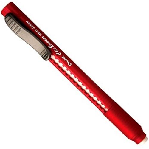 Caneta Borracha Clic Eraser Vermelho Pentel