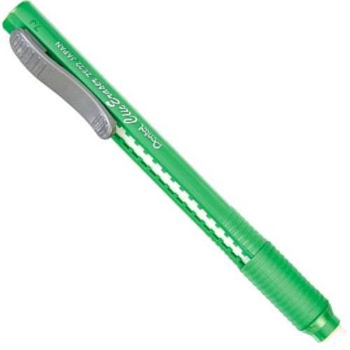 Caneta Borracha Pentel Clic Eraser Verde