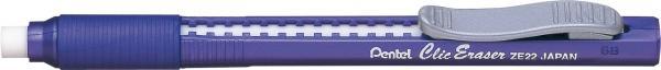 Caneta Borracha Pentel Clic Eraser Violeta ZE22-V