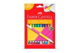 Tudo sobre 'Caneta Hidrográfica 48 Cores - Faber Castell'