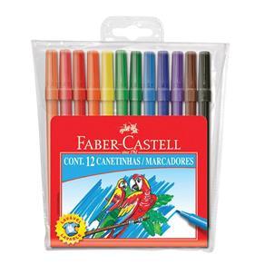 Caneta Hidrográfica 12 Cores Prestocolor - Faber Castell