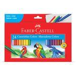 Caneta Hidrográfica 24 Cores - Faber Castell