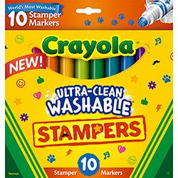 Caneta Hidrográfica Carimbos 10 Cores - Crayola