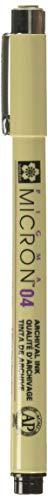Caneta Pigma Micron Nanquim 0.4mm Sakura