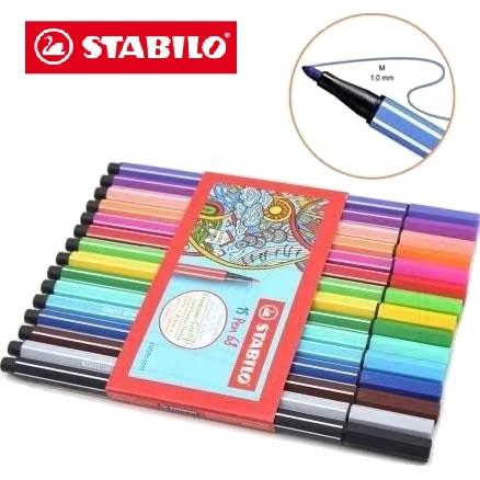 Caneta Stabilo Pen 68 C/ 15 Unidades