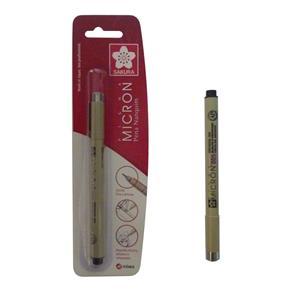 Caneta Tecnica Nanquin Pigma Micron Preto 0,05mm