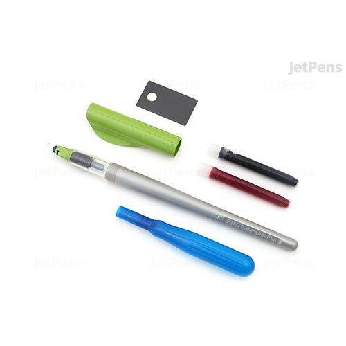 Tudo sobre 'Caneta Tinteiro/pincel Pilot Parallel Pen 3.8mm - Verde'